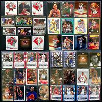 Huge Basketball Card Lot! HOF, Draft, '20 Bubble, Foil, RC, Olympic: NBA Set 133