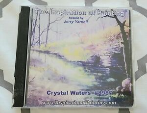 Crystal Waters #8987 The Inspiration Of Painting By Jerry Yarnell DVD