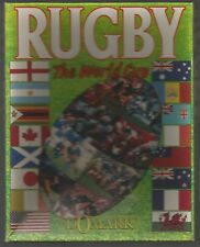RUGBY THE WORLD CUP - Domark - Boxed COMMODORE 64 C64 CASSETTE GAME - Tested