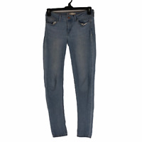 Levis Womens Blue Mid Rise Skinny Leg Stretch Denim Jegging Jeans Size 29