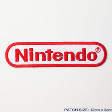 NINTENDO Game System Logo Embroidered Iron-On Patch!