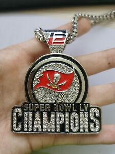 Tampa Bay Buccaneers 2020-2021 LV Champions Necklace NFL
