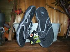 OZARK TRAIL MENS SPORTS SANDALS SHOES SIZE 13 GRAY OUTDOOR TRAIL FLIP FLOPS NEW