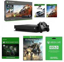 Console Microsoft Xbox One X 1 To + 3 Jeux + Xbox Live + Game Pass - Neuve