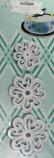 Flower Fondant Gum Paste Cookie Cutter Press 3 pc Set - NEW