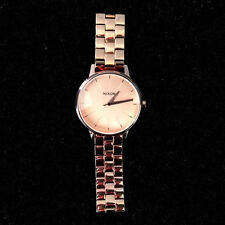 "NIXON ""KENSINGTON"" ROSE GOLD TONE WOMEN'S WATCH"