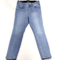 Torrid Jegging Plus Size Womens Premium Blue Jeans Size 16R Stretch High Rise