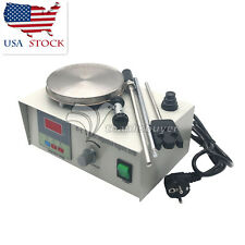 Laboratory Magnetic Stirrer with Heating Plate 110V Hotplate Mixer 0-2400rpm US