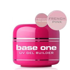 Base uno francese rosa Senza Acidi Gel UV file Off Nail Gel Builder 30 G Silcare