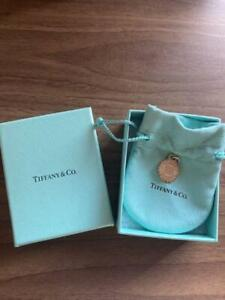Tiffany & Co. Necklace Pendant Charm Only Silver 925 with Box Storage bag
