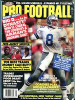 Pro Football 1993 NFL Kickoff Troy Aikman Cowboys VG 042116jhe
