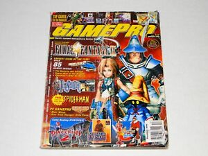 GamePro Magazine #147 Spider Man Comic inside Final Fantasy 9 Zelda Dino Crisis