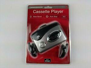Durabrand Cassette Player Model 820M Bass Boost Belt Clip Silver New in Package
