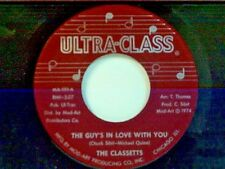 """CLASSETTS """"THE GUY'S IN LOVE WITH YOU / I DON'T WANT NOBODY ELSE"""" 45 FUNK"""