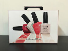CND SHELLAC CHIC TRIAL Kit 2016 Gel Polish Intro Kit Brand New Package