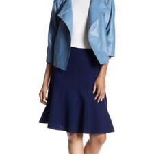 Lafayette 148 New York Women's Parisa Wool A-Line Skirt 10 Petite Retail $348