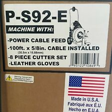 """General Pipe Speedrooter S 92 Drain Sewer Cleaning 100ft x 5/8"""" Cable Ps92E Wire"""