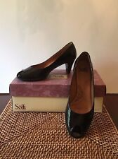 Sofft; Black Patent Leather Shoes Pumps Heels Size 8.5 M Was $ 99.00