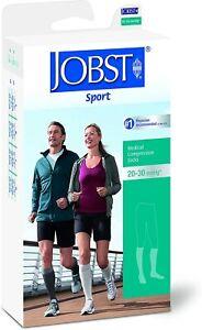 JOBST® Sport Knee High 20-30 mmHg Closed Toe Compression Socks (Select Size)