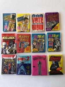 Various Wax Packs ~ You Pick