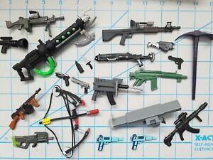 Fortnite NECA Turtles GI JOE Classified ETC 1:12 Action Figure Weapons - Choose