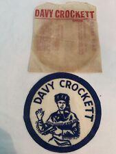 Davy Crockett Blue Emblem In Original Bag
