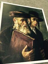 Judaica Art Print (5pc) Rebbe Collection Lithographs