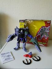 TRANSFORMERS BEAST WARS MEGATRON COMPLETE WITH BOX, Biocombat Ultra 1996