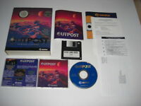 OUTPOST Pc Cd Rom Original Out Post BIG BOX - FAST , SECURE POST