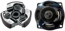2 Stroke Pocket Bike 7T Drum Gear Box Kit Clutch Pad For 47cc 49cc ATV Quad US
