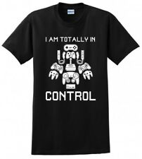 GAMER REMOTE TOTALLY IN CONTROL GAME JOYSTICK MENS FUNNY T-SHIRT