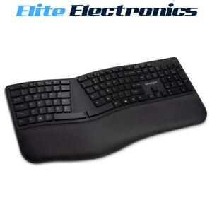 Kensington Pro Fit Ergo Wireless Keyboard Black Ergonomic K75401US