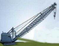 22RB Dragline/Demolition Crane 55 on E31a UNPAINTED N Gauge Scale Models Kit