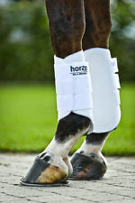 Horze Soft Fleece Cushion Pile Lined Leg Protection Flatwork Brushing Boots