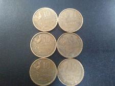 FRANCE LOT 10 FRANCS 1951. 1951 B , 1952 , 1952 B, 1953, 1953 B