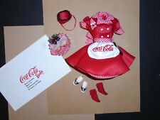 BARBIE Coca Cola Coke CAR HOP De-Boxed Fashion 1st In Series #22831 1998