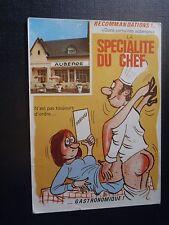"""CPM Recommandations !... """" Dans certaines auberges"""" La Spécialité du Chef ......"""