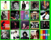 MICHAEL JACKSON ALBUM COVERS  20  PHOTO FRIDGE MAGNETS