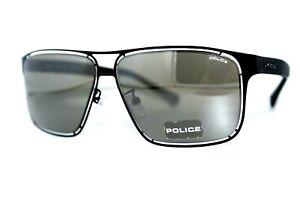 NEW POLICE OFFSIDE2 S8955 531X BLACK AUTHENTIC SUNGLASSES MEN'S FRAMES W/CASE