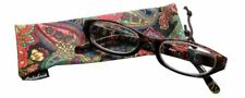 Calabria 4377 Reading Eye Glasses w/ Matching Case in 60 New Color&Power Options