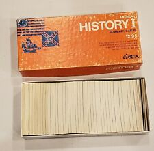 American History I Summary Cards by Vis-ed