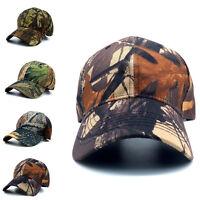 Mens Women Camouflage Baseball Cap Military Army Camo Hat Trucker Snapback Hot-