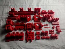 HyperCube Evolution 3D Printed Parts Kit PETG Printed to Spec Red Blue Clear USA