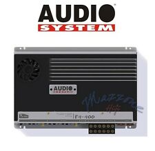 AUDIOSYSTEM F4 400 SPEAKERS AMPLIFIER 4 CHANNEL 660W RMS By STEG > MADE IN ITALY