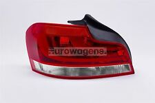 BMW 1 Series E82 11-13 Red LED Rear Tail Light Left Passenger Near Side Hella