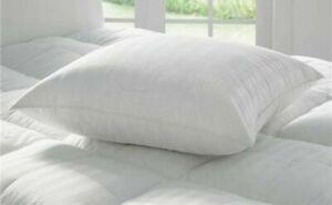 2 x European Pillows, Continental European Square Pillows