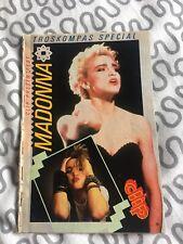 MADONNA RARE SPECIAL MAGAZINE MAG 1984 1985 1986 No Cd No Dvd No Lp No Cassette