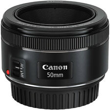 Canon EF 50mm f/1.8 F1.8 STM Lens for EOS 6D 7D 5D Mark III Rebel T6i T6s SL1
