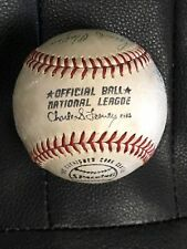 HOF Mickey Mantle Autographed Baseball  With Other HOF Ers JSA
