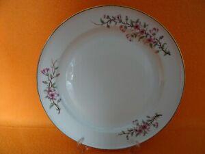 Rosenthal Selb HELENA Speiseteller 25 cm Dekor - Kirschblüten Goldrand